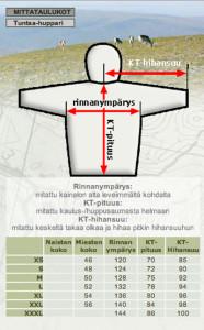 mittataulukot_huppari
